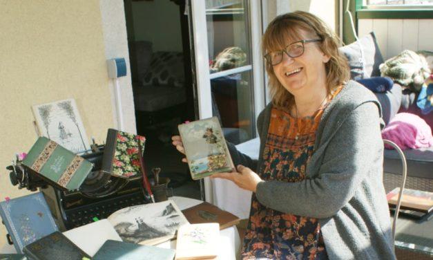 Ulli Filz sammelt Stammbücher