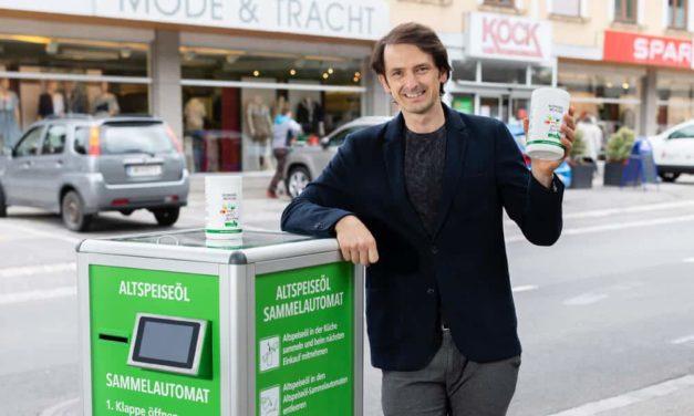 Öl-Automat: Treibstoff aus altem Speisefett
