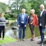 Kunst am Wasser: Fotoausstellung am Aspanger Teich