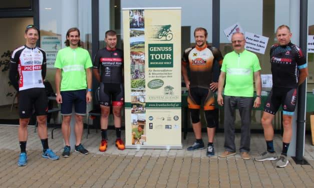 """Unterwegs zu """"Race Around Austria"""" mit dem Team der Bikeregion Bucklige Welt"""