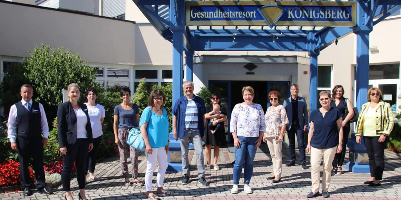 """Regionale Zusammenarbeit: Bonus-Card für """"KönigsTeam"""""""