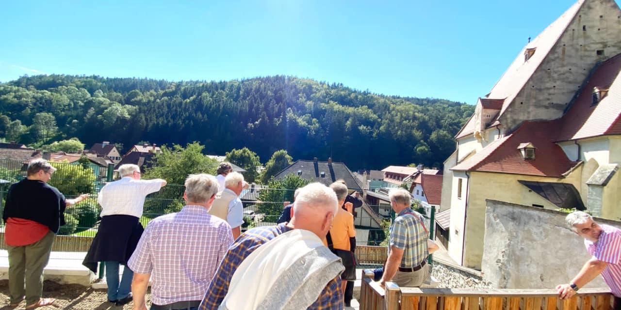 Wehrkirchen-Einblicke für die Kirchenführer