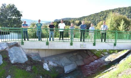 Neue Brücke in Olbersdorf: Mehr Platz für Hochwasser