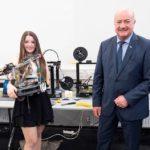 Schul-Labor für Roboter-Technik eröffnet