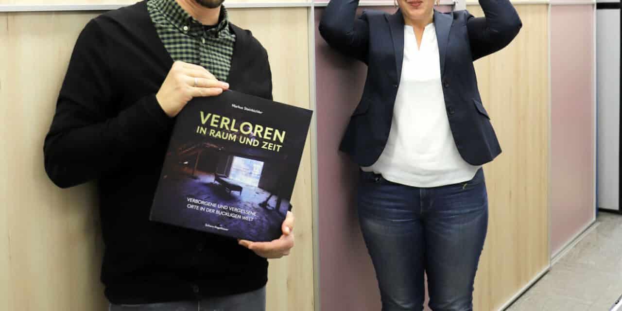 """Druckfrisch: """"Verloren in Raum und Zeit"""""""