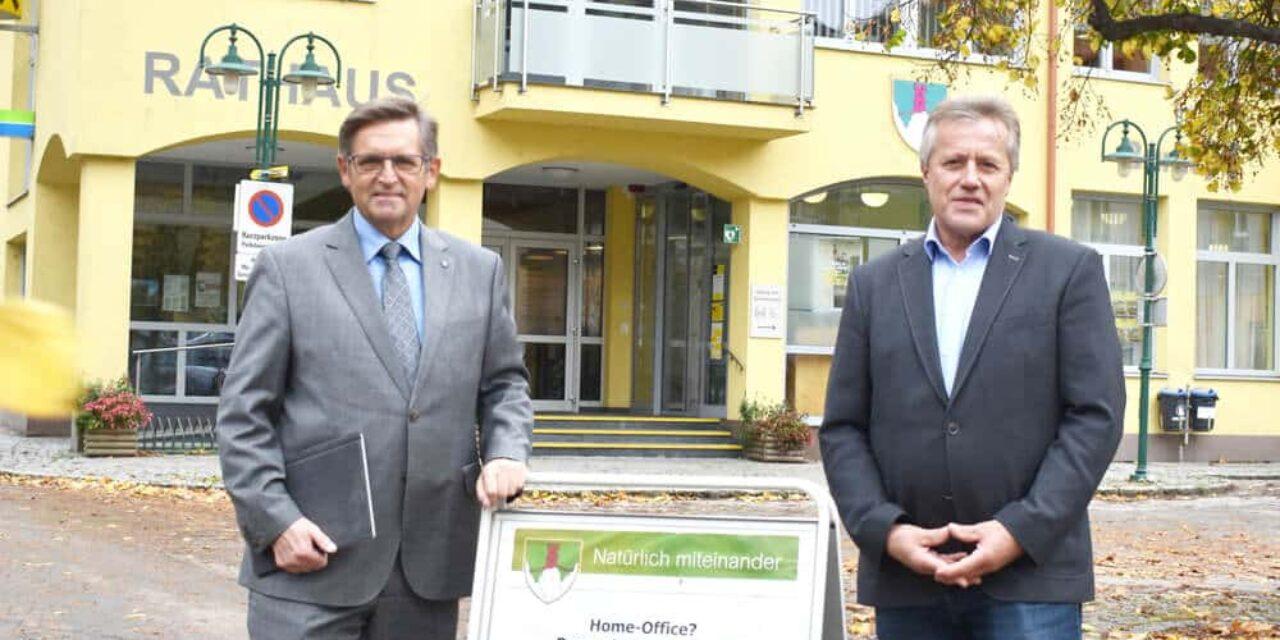 Start in Grimmenstein: Dorf-Office statt Home-Office