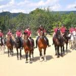 """Die Reiterfamilie von """"Willis Ranch"""""""