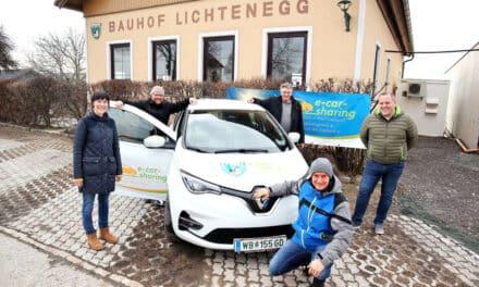 Ein-Euro-E-Mobil: Lichtenegg ist neu dabei