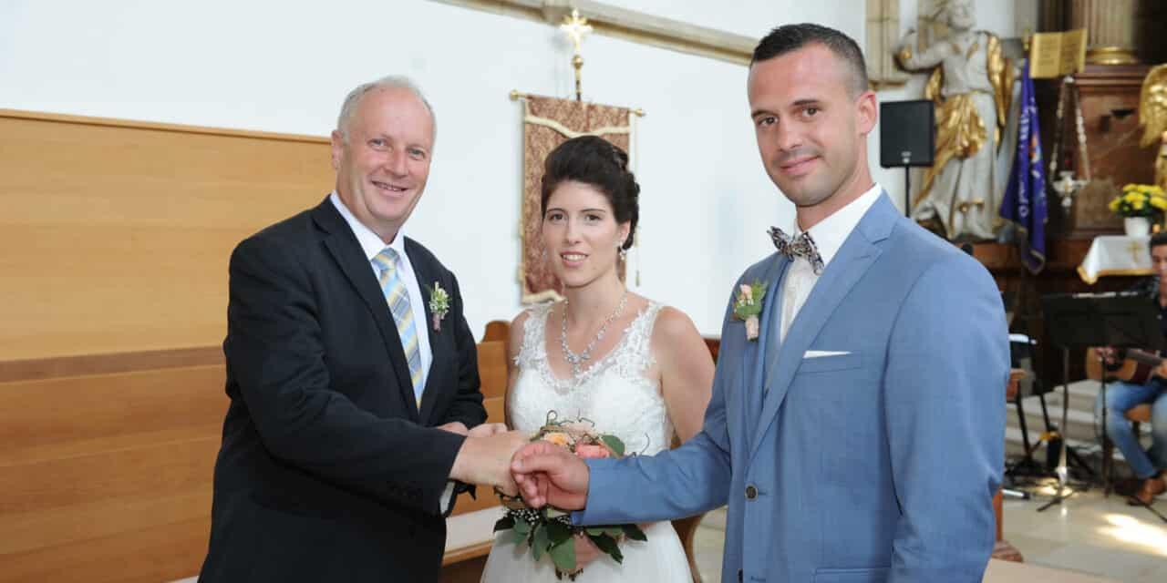 Die Hochzeits-Zeremonienmeister
