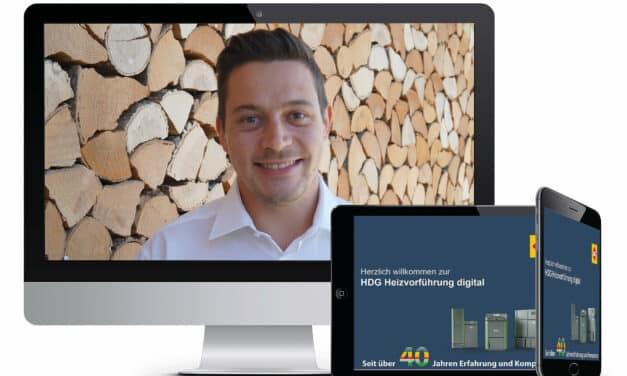 """HDG: Der Experte für Holzheizungen startet """"Heizvorführung digital"""""""