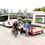 Mit Bus und Rad zu den Wexl Trails