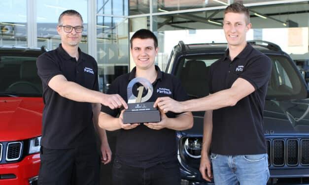 Top-Auszeichnung für Autohaus Partsch