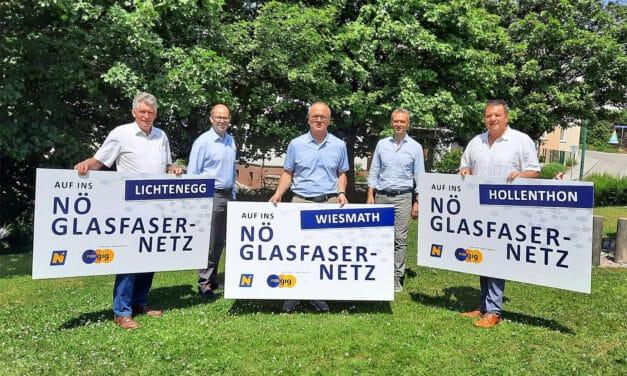 Weitere Gemeinden auf Glasfaser-Stimmenfang