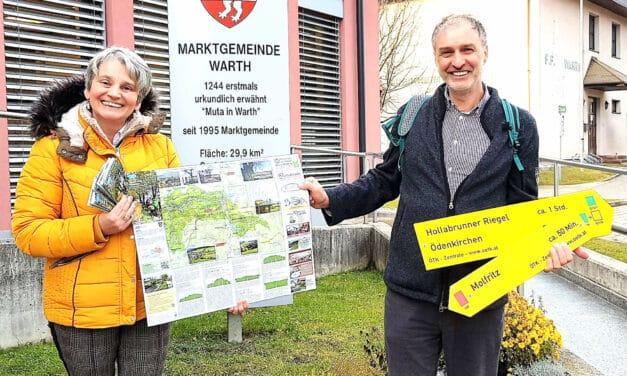 """Projekt """"Wanderwege"""" in Warth"""
