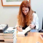 Bestsellerautorin in der Schule