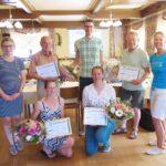 Gästering ehrt langjährige Mitglieder