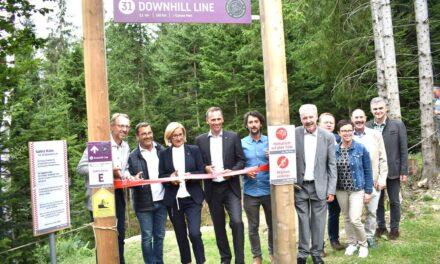 Neue Profi-Strecke auf den Wexl Trails eröffnet