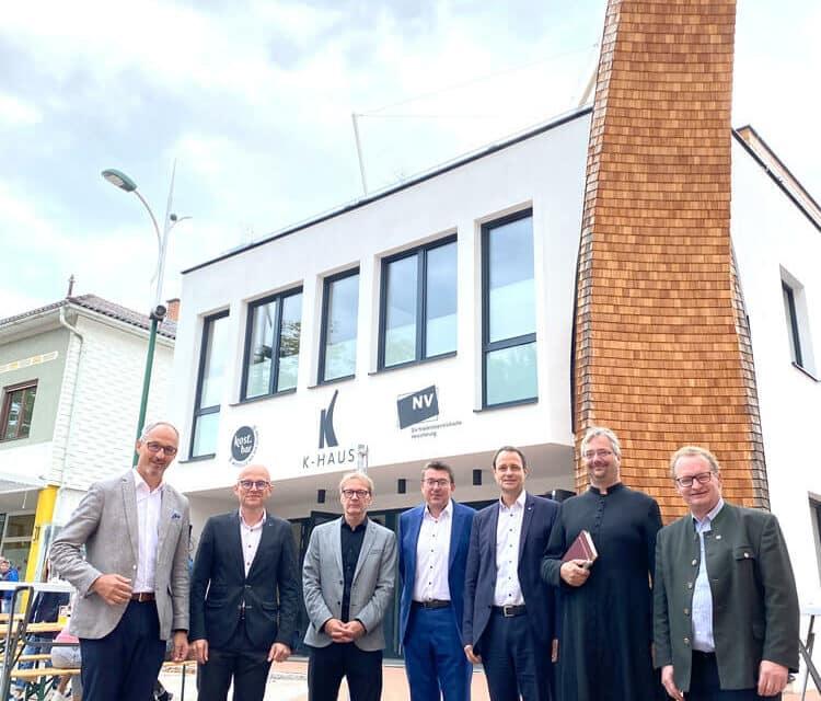 K-Haus offiziell eröffnet