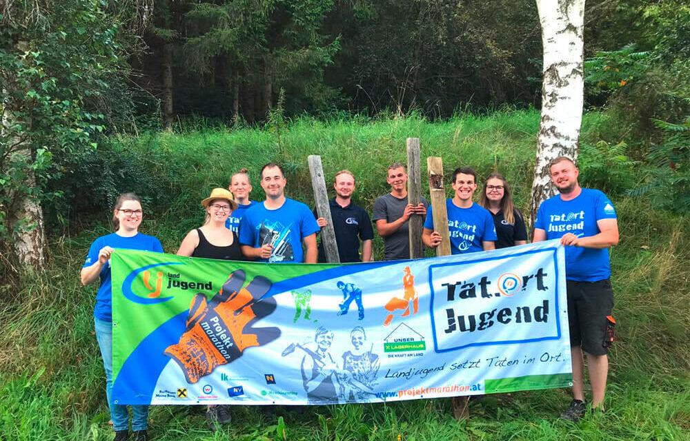 Projektmarathon: Landjugend im Einsatz