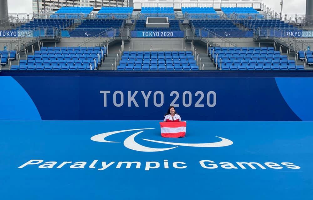 Schiedsrichterin bei Paralympics