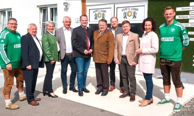 Stadion-Eröffnung in Scheiblingkirchen